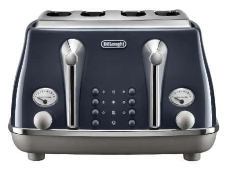 Rent To Own Delonghi Icona 4 Slice Toaster Darkblue