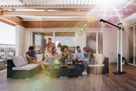 Rent To Own Cantilever Outdoor Radiant Heater 2