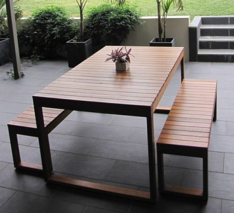 Rent To Own Fairfax 4 Seater Outdoor Dining Setting 1