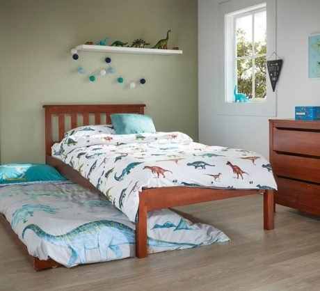 Rent To Own Cooper Single Bed With Trundle