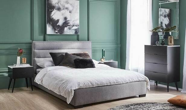 Rent To Own Saville King Bedroom Package With Monaco Tallboy