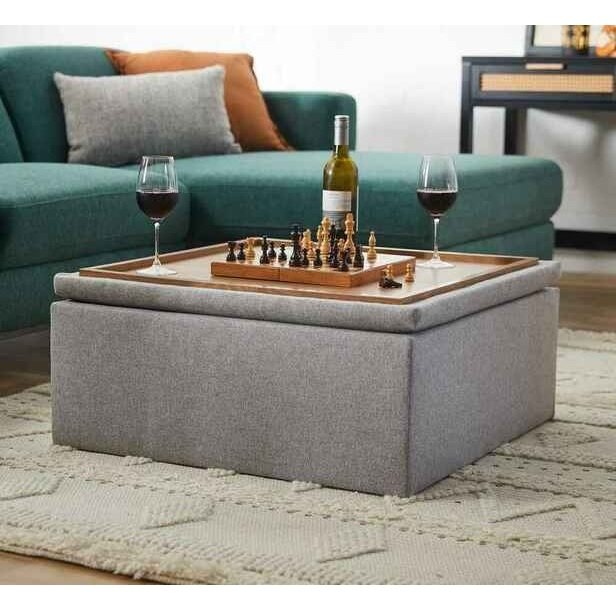 Rent To Own Suave Ottoman