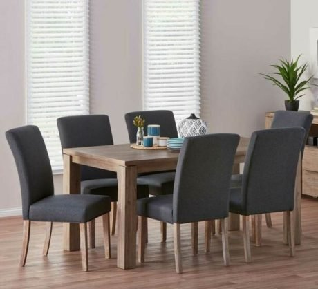 Rent To Own Toronto 7 Piece Dining Set With Parker Chairs