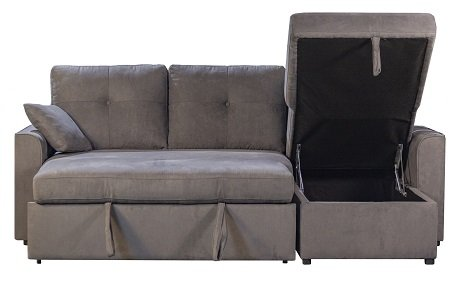 Rent To Own Beattie L Sofa Bed Chaise 1