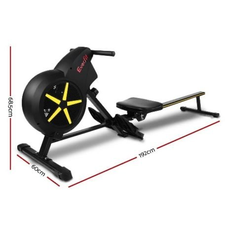 Rent To Own Everfit Resistance Rowing Exercise Machine 4