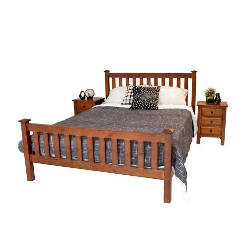 Rent To Own Hampton Queen Bed & Premium Pillowtop Queen Mattress