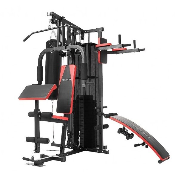 Rent To Own Powertrain Multi Station Home Gym With Punching Bag