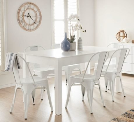 Rent To Own Hamilton 7 Piece Extendable Dining Set