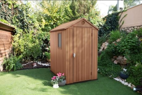 Rent To Own Keter 1.25 X 1.84 X 2.05mm Darwin Garden Shed 1