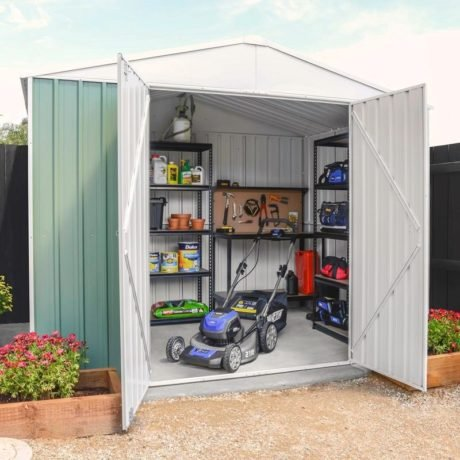 Rent To Own Pinnacle 2.99 X 2.25 X 2.19m Green Garden Shed 2