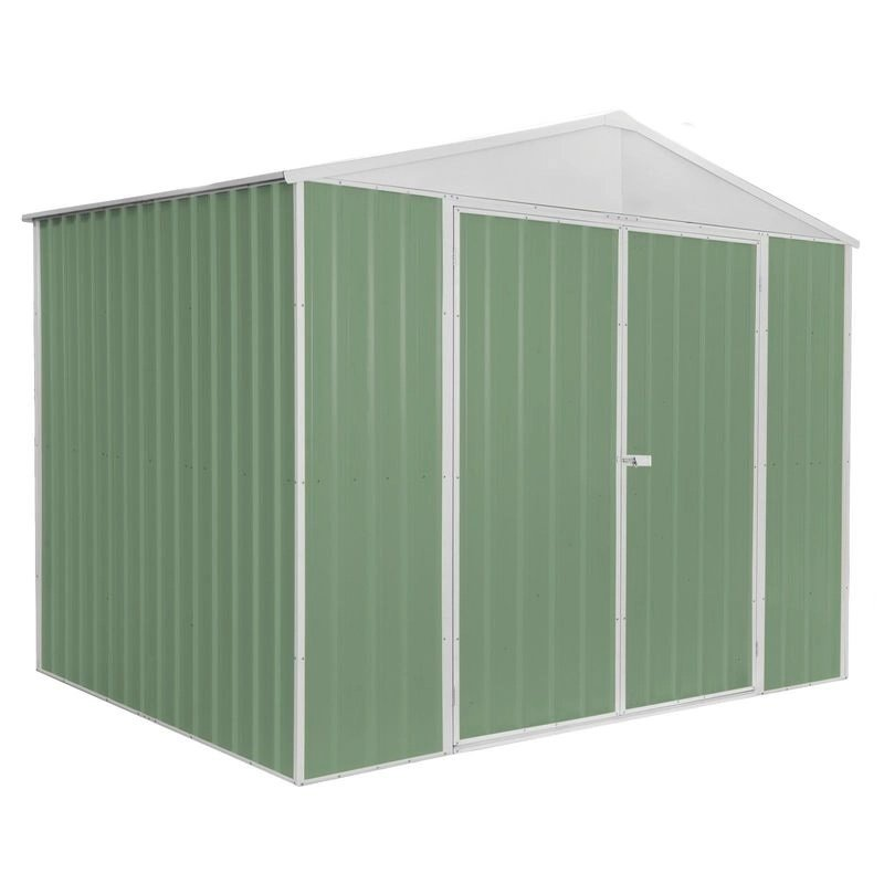 Rent To Own Pinnacle 2.99 X 2.25 X 2.19m Green Garden Shed