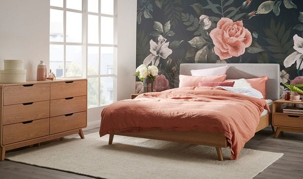 Rent To Own Melody Queen Bedroom Package With Niva Dresser