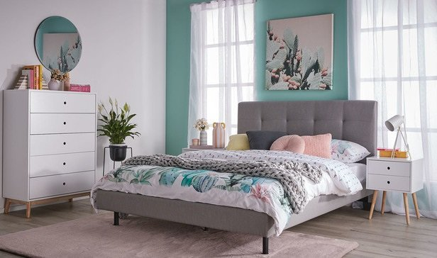 Rent To Own Modena Queen Bedroom Package With Toto Tallboy