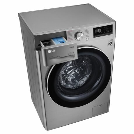 Rent To Own Lg 8kg Front Load Washing Machine With Steam 5