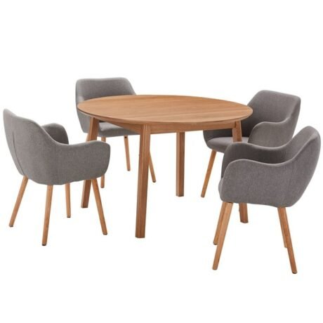 Rent To Own Niva 4 Seater Dining Set With Nicki Chairs 1