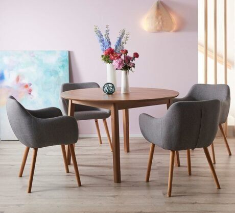 Rent To Own Niva 4 Seater Dining Set With Nicki Chairs
