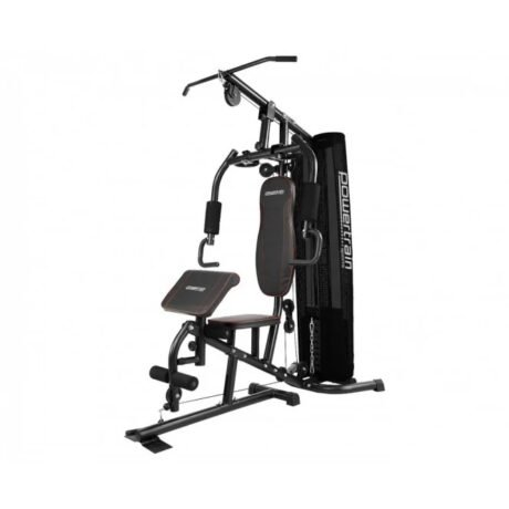 Rent To Own Powertrain Multi Station Home Gym With Preacher Curl Pad
