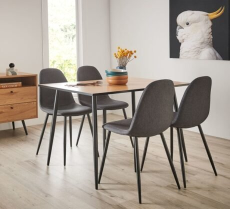 Rent To Own Seaforth 4 Seater Dining Set With Mambo Chairs
