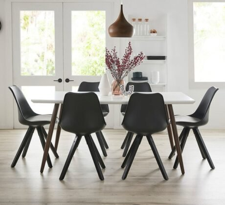 Rent To Own Stockholm 6 Seater Dining Set With Dimi Chairs