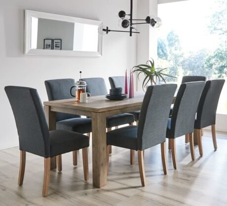 Rent To Own Toronto 8 Seater Dining Set With Parker Chairs