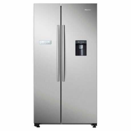 Rent To Own Hisense 578l Side By Sidestainless Steel Refrigerator